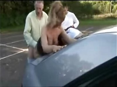 Slut wife dogging