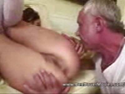 Asslicking 18 years Old with Grandpa